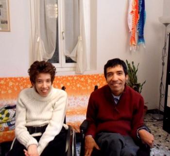 persone con paralisi cerebrale infantile
